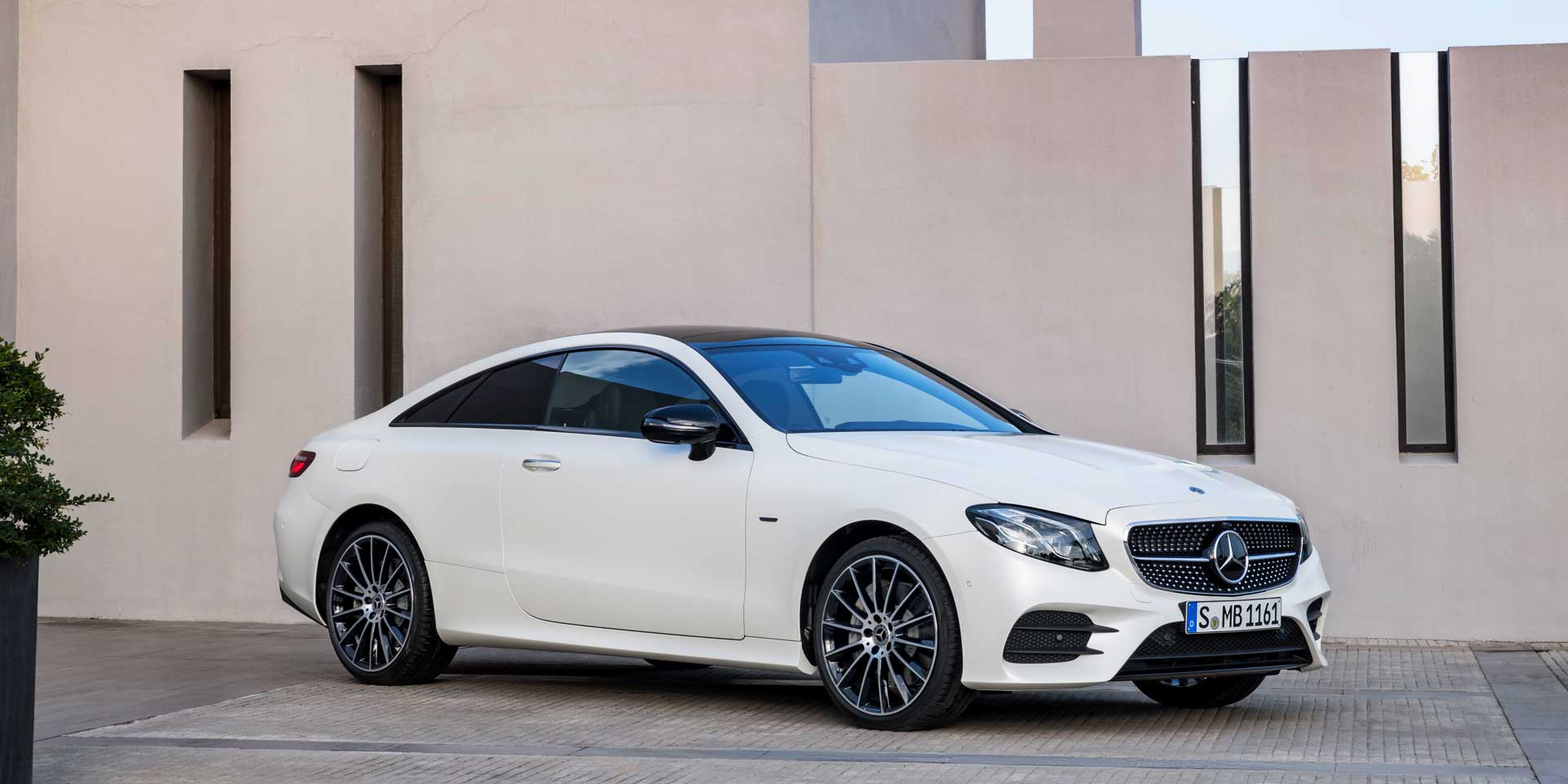 2018 Mercedes-Benz E Coupe