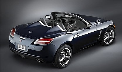 2009 Saturn Sky Red Line The 09 Saay Is More Muscular Near Twin Brother Of Base Two Penger Sports Car