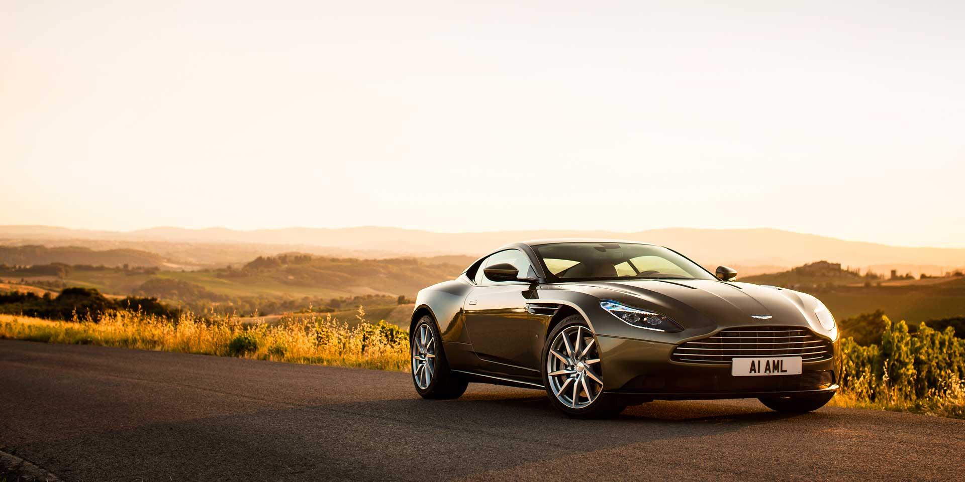 Nice Aston Martin DB 11