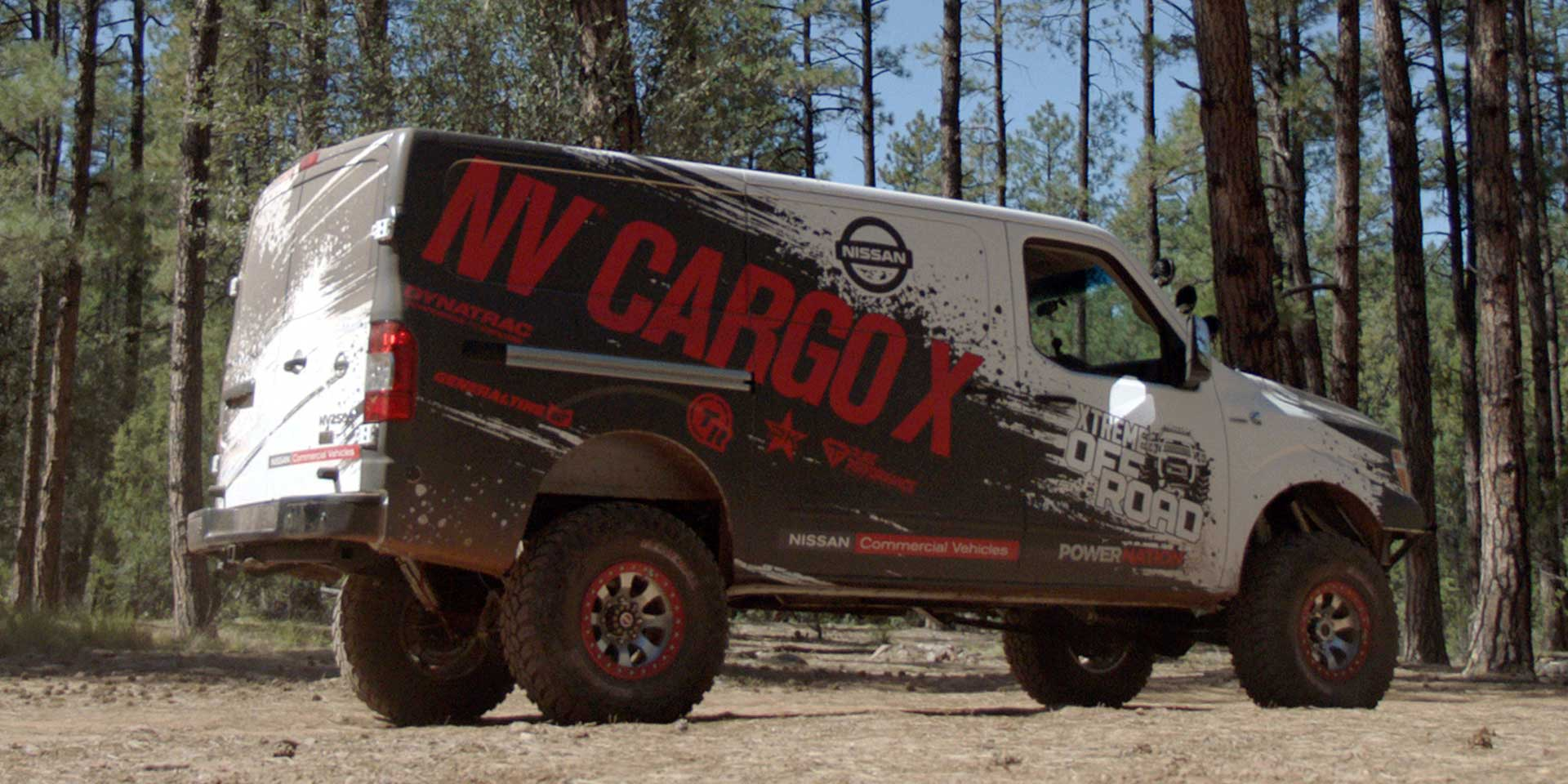 Nissan NV Cargo X The Is A Big Bad Van That Takes To New Heights