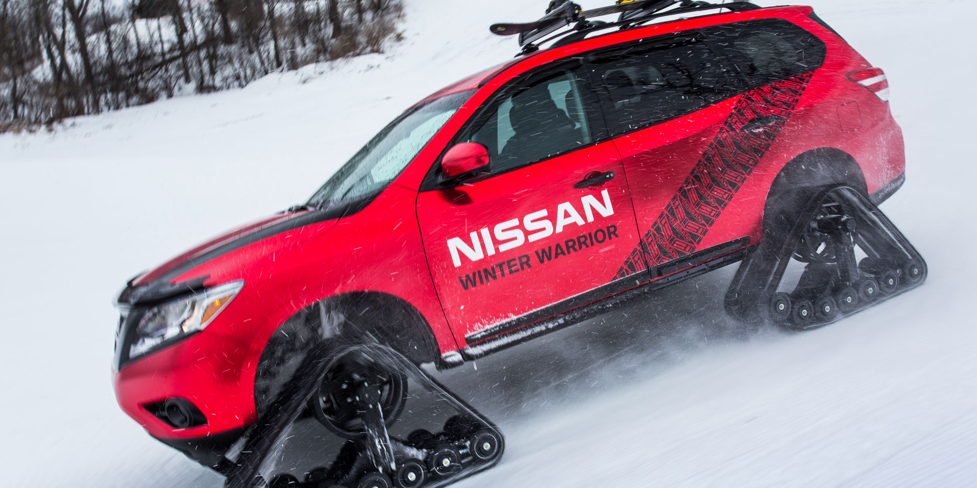 2016 Nissan Pathfinder Winter Warrior